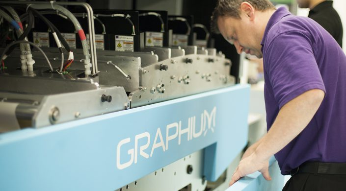 Graphium Hybrid Digital Inkjet Label Press
