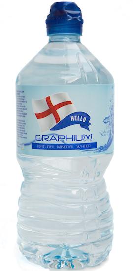 Digital Linerless Label Water Bottle