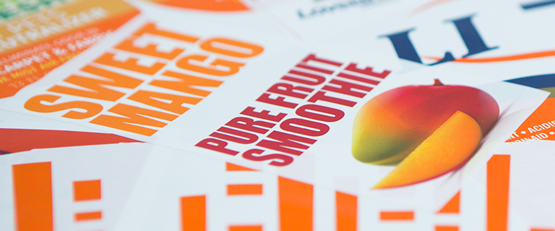 Graphium enables enhanced Linerless Label production - Orange ink
