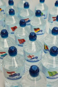 Graphium enables enhanced Linerless Label production - Water bottle label